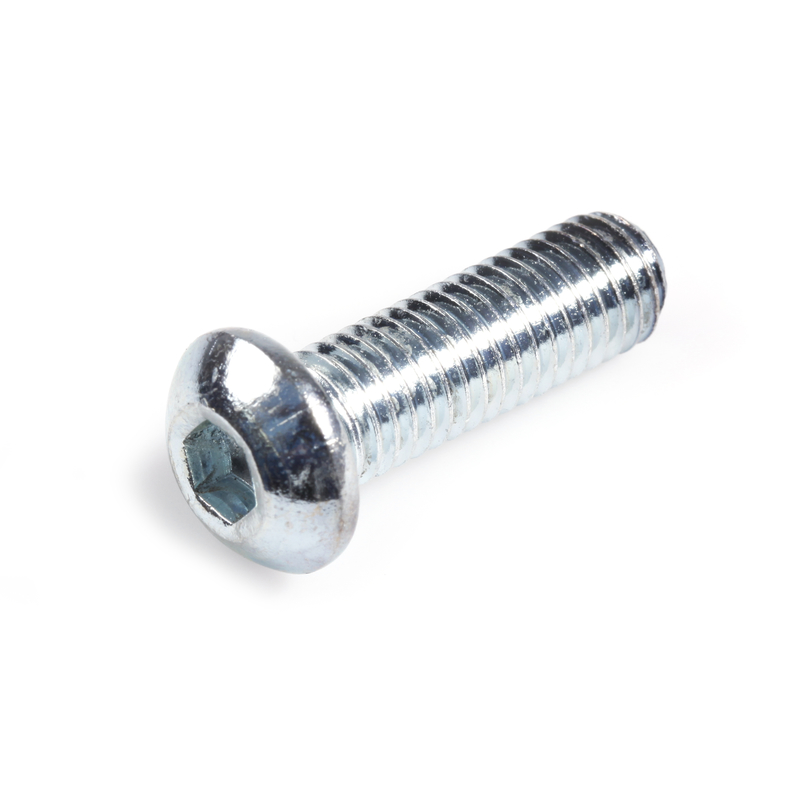 Hexagon Socket Button Head Screw with Round Head ISO 7380 A4