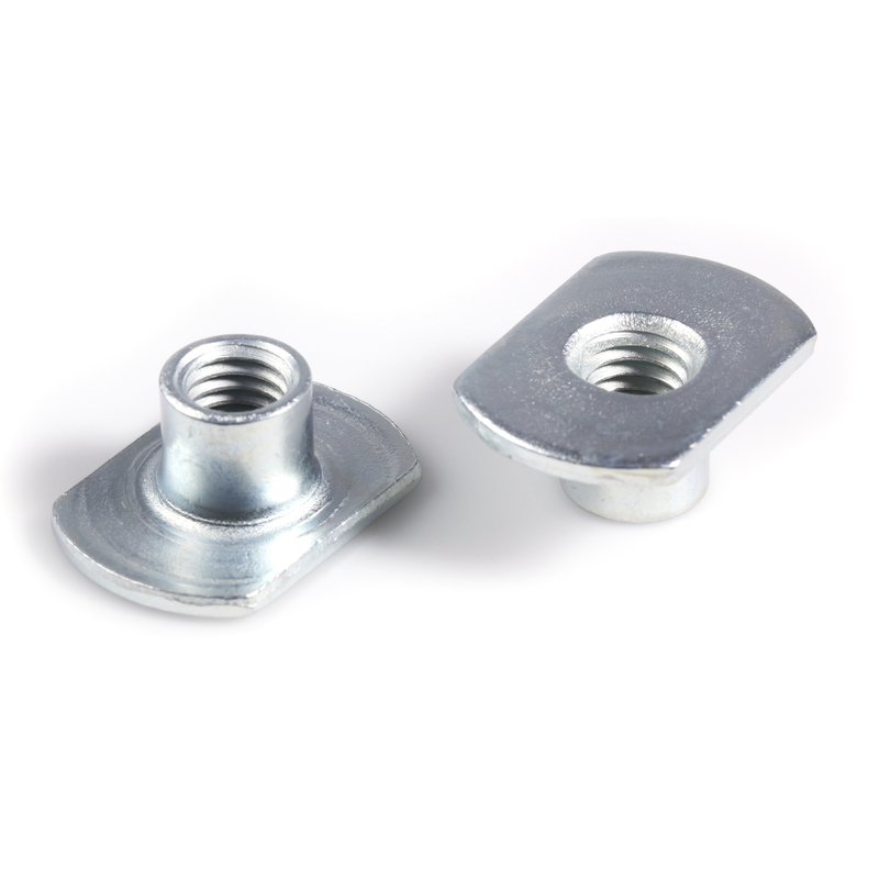 Weld Nut with Flange type C BZP