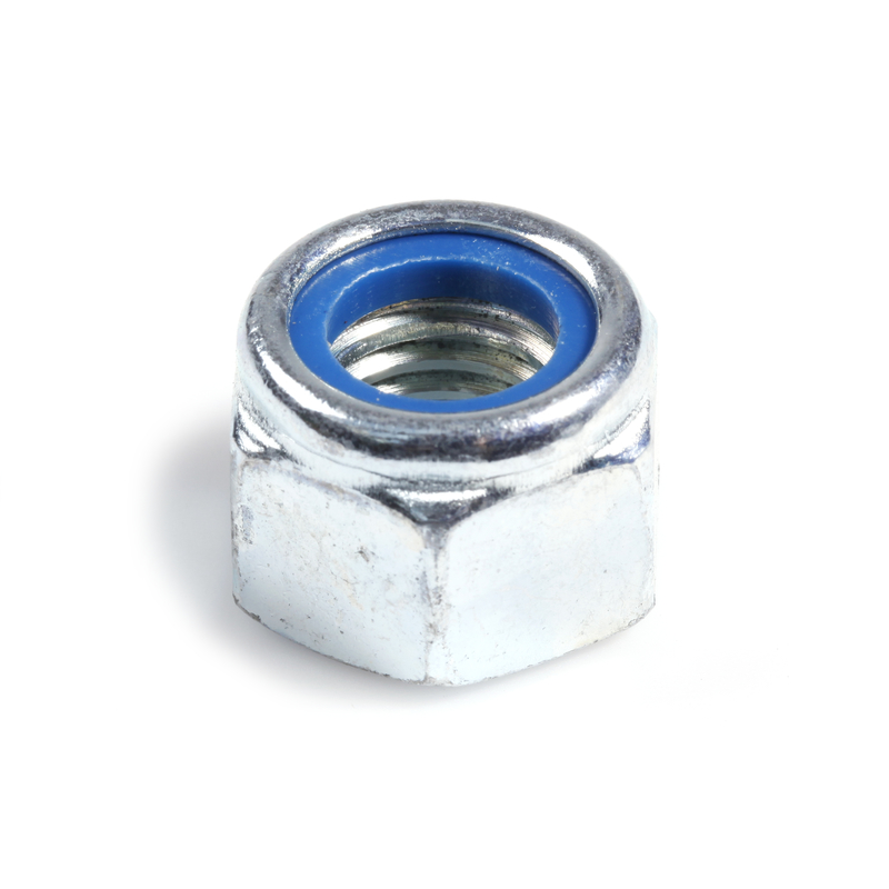 Self-Locking Hexagon Nut, high 8 BZP