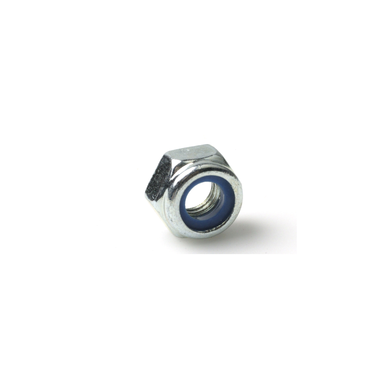 Hexagon Prevailing Torque Nut with nylon ring BZP