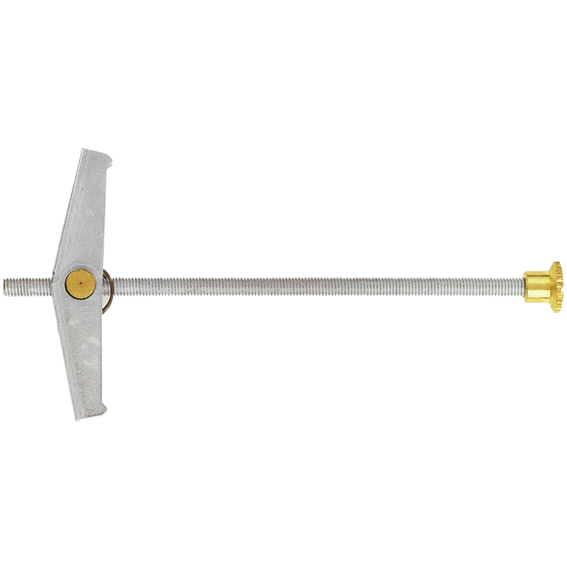 Spring Toggle FKR with Knurled Nut yellow galvanization
