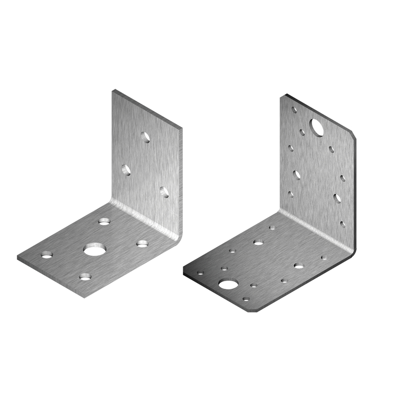 Angle Bracket (2-2.5 mm) with Screw Hole tZn