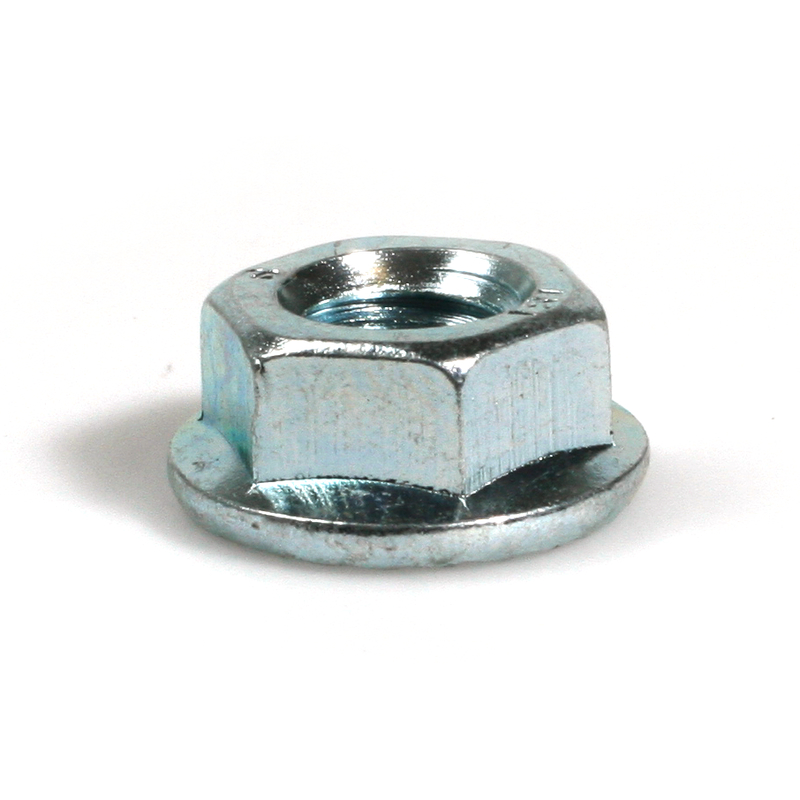 Hexagon Flange Nut Serrated 8 BZP