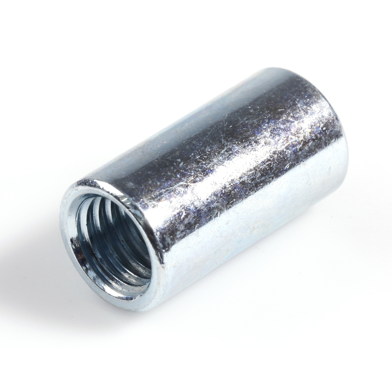 Round Coupling Nut BZP