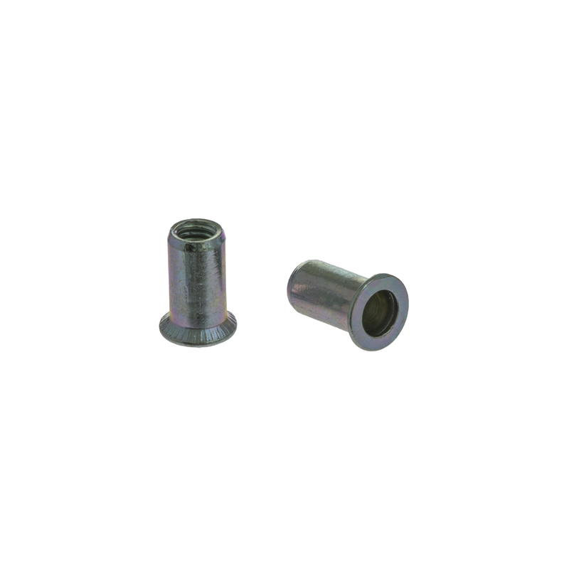 Blind Rivet Nut FTS steel with CSK round head