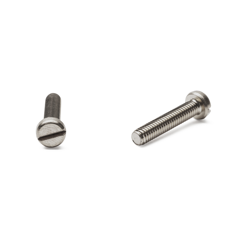 Slotted Cheese Head Screw A2-70
